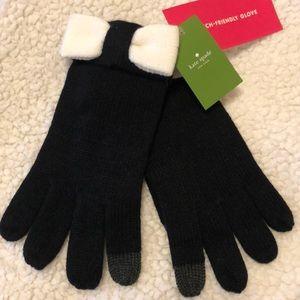 Kate Spade Tech Friendly Bow Gloves/NWT